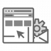 servicio web wordpress icono